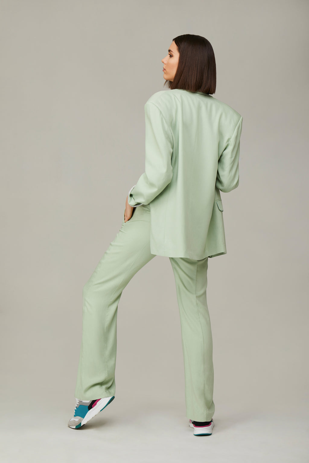 The Mint Green Lover Blazer