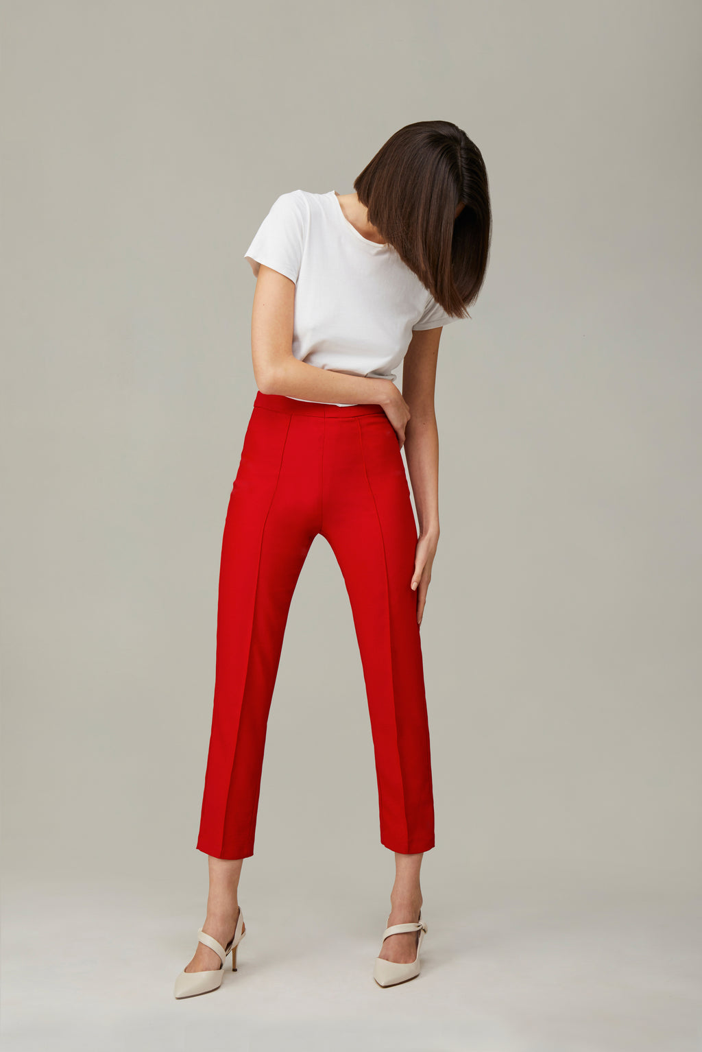 The Red Smoking Pants
