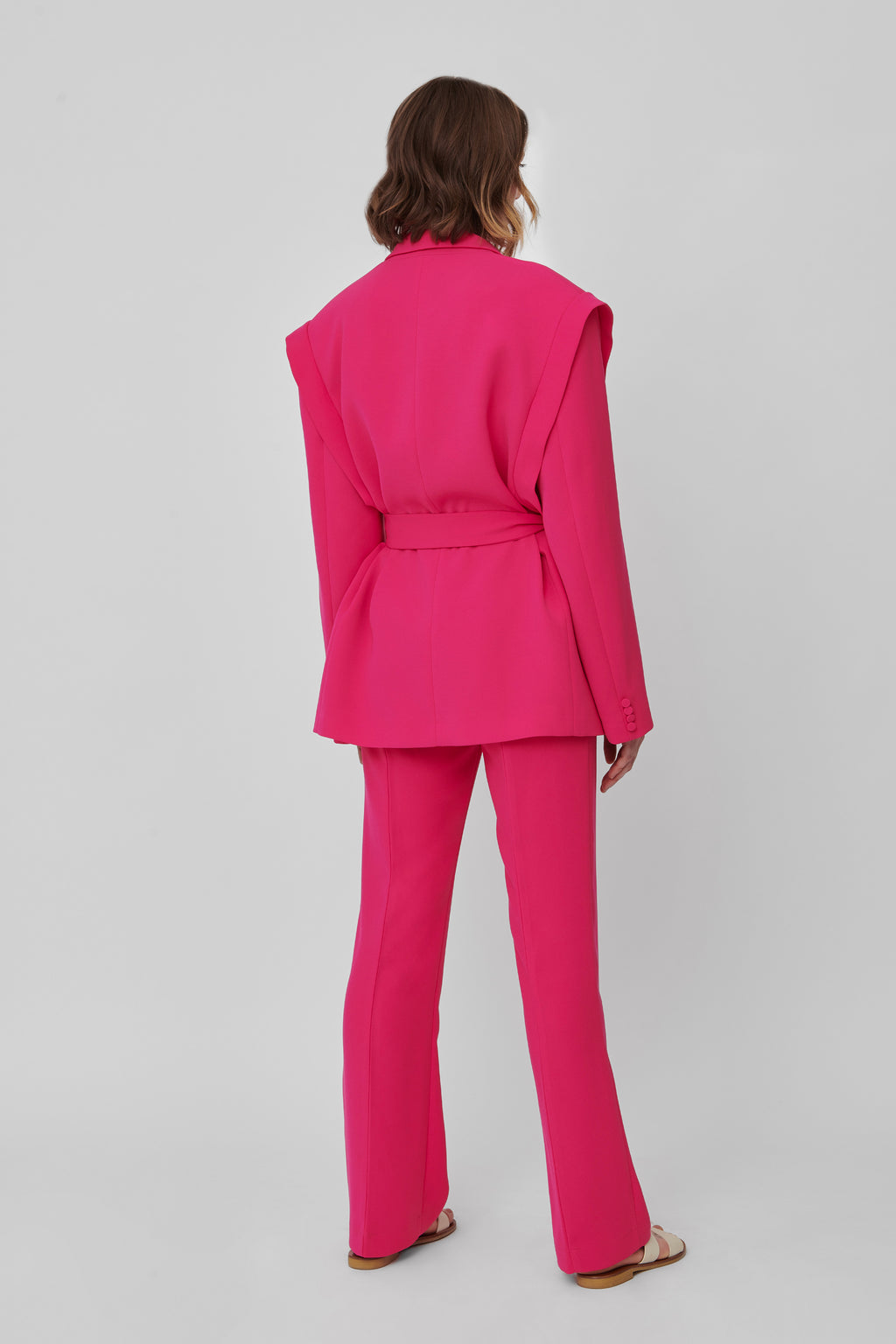 The Raspberry Crepe Lover 2.0 Blazer