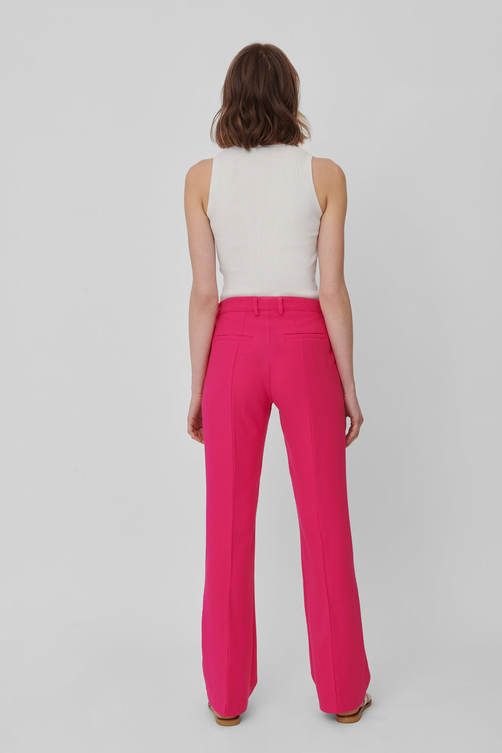 The Raspberry Crepe Lover 2.0 Pants