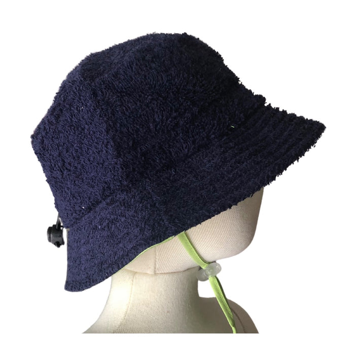 Retro Towelling Hat with cotton lining