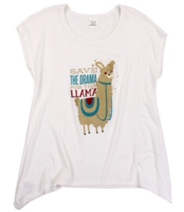 'Save the Drama for the Llama!' Stretch Tee