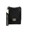 Chanel Camelia Handbag Black