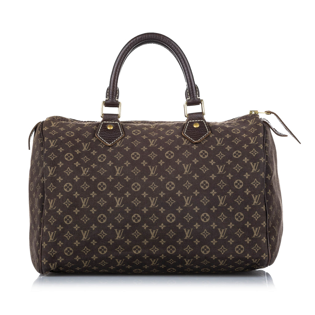 Monogram Mini Lin Speedy 30 Brown - Bag Religion