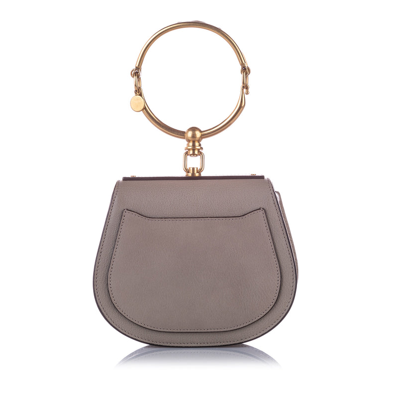 Nile Leather Crossbody Bag Gray - Bag Religion