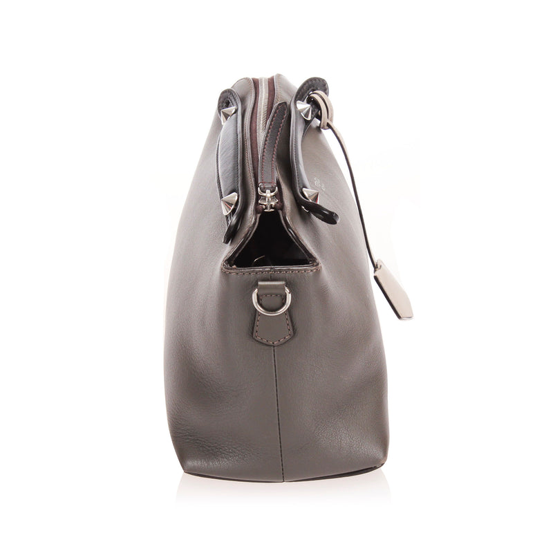 By The Way Leather Satchel Gray - Bag Religion