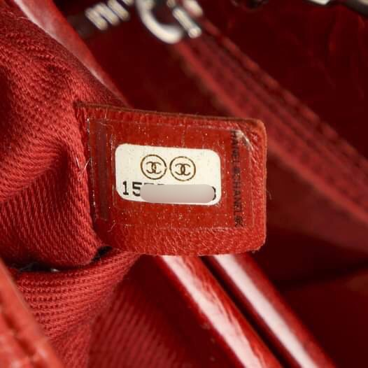 Chanel Mademoiselle Bowling Bag Red