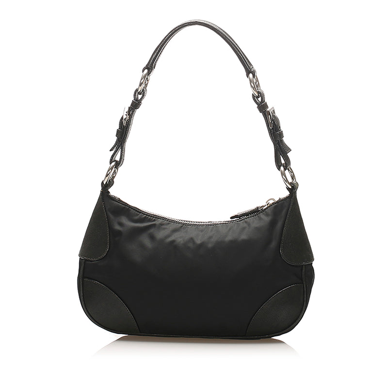 Tessuto Shoulder Bag Black - Bag Religion