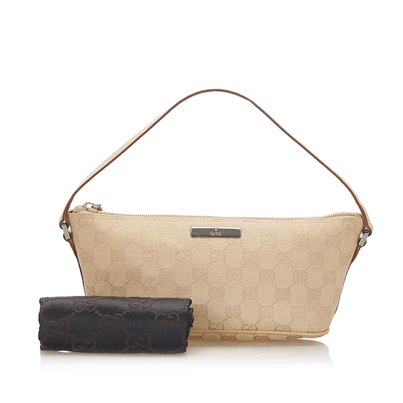 GG Canvas Boat Baguette Brown - Bag Religion