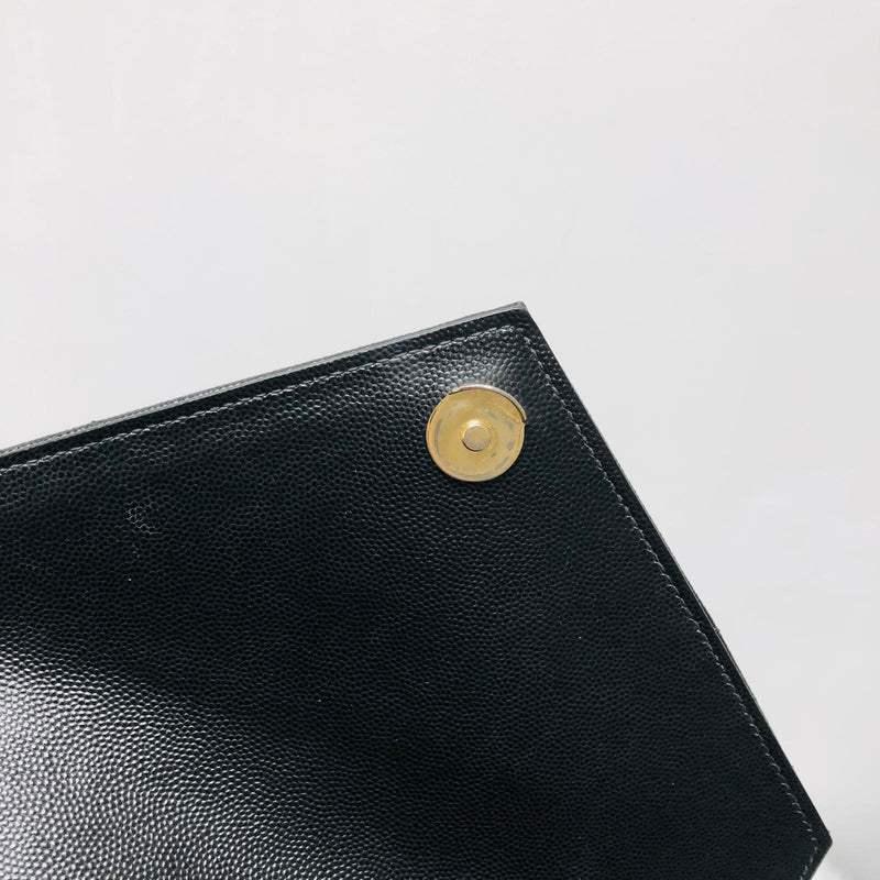 Medium Envelope in Mixed Matelasse Grain de Poudre Embossed Leather