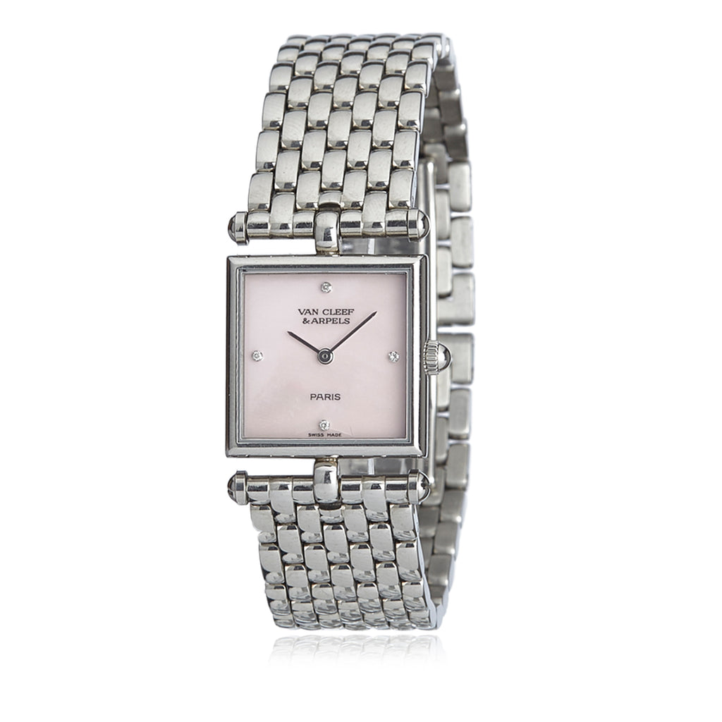Stainless Steel Shell Dial Classique Watch