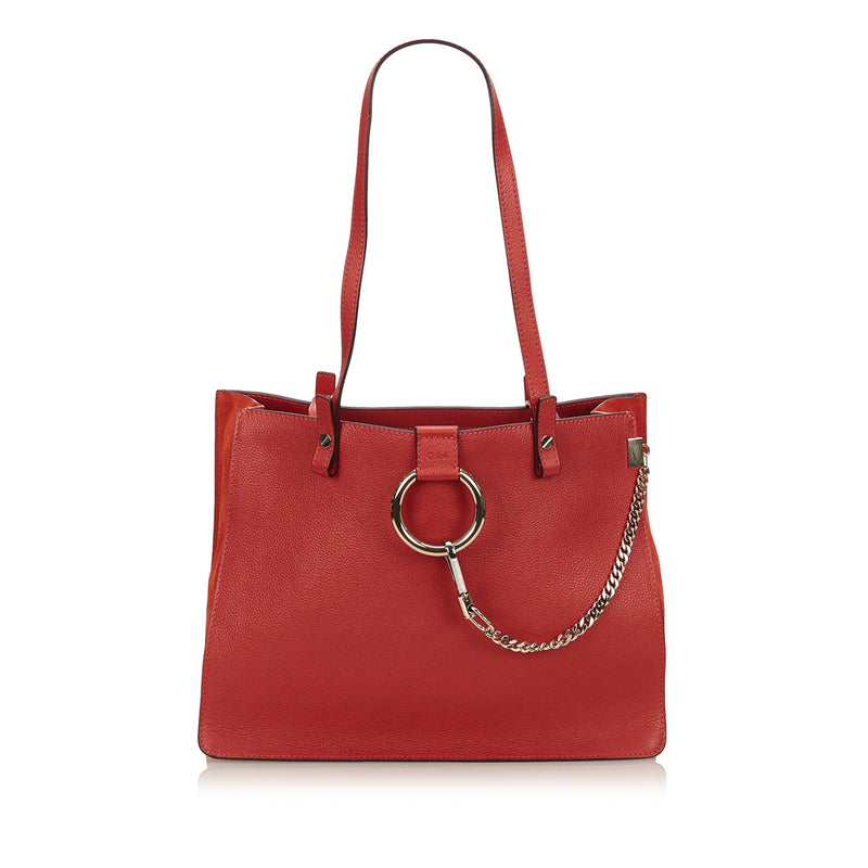 Faye Tote Bag Red - Bag Religion