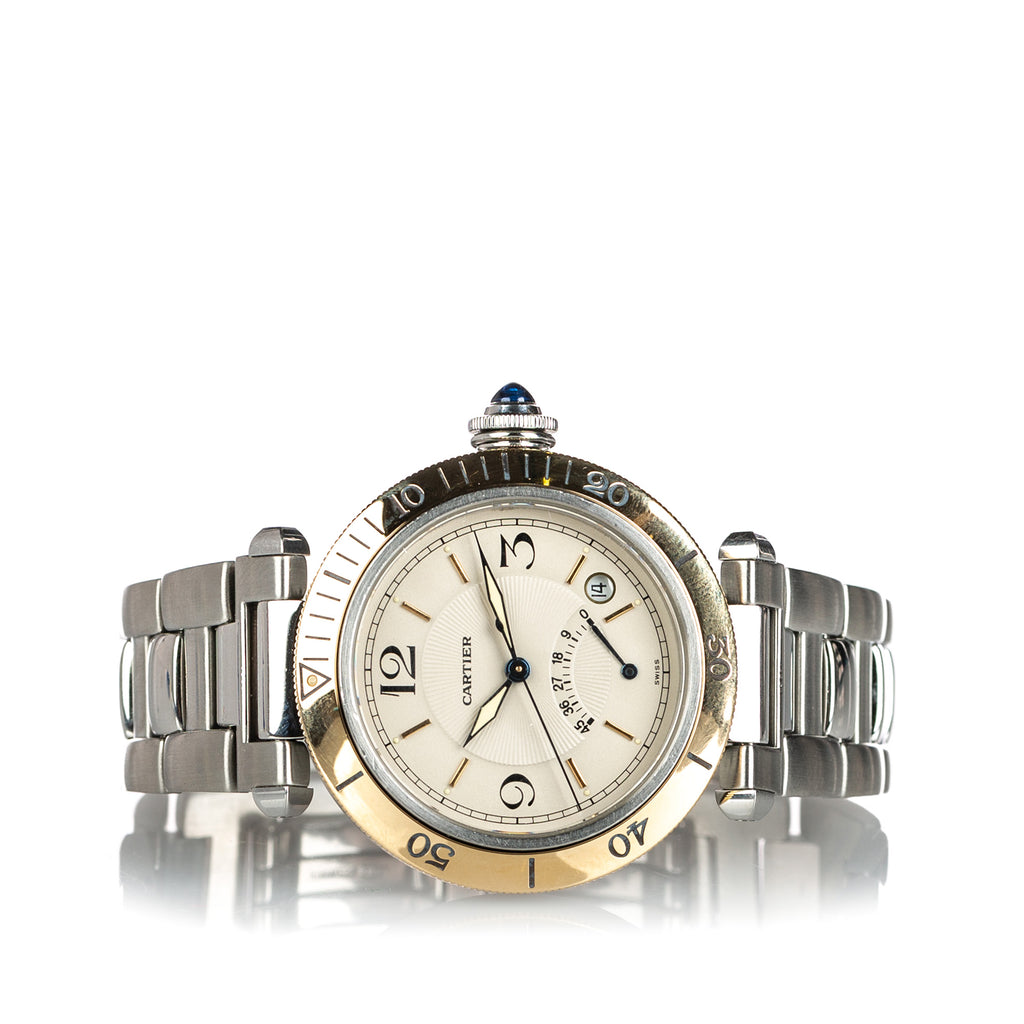 Stainless Steel Pasha Automatic W31012H3