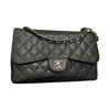 Jumbo Classic Flap Black Caviar Leather with SHW