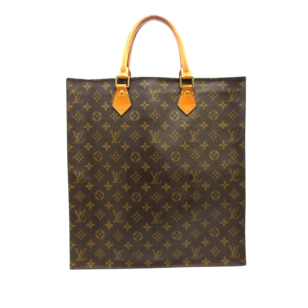 Monogram Sac Plat Brown - Bag Religion