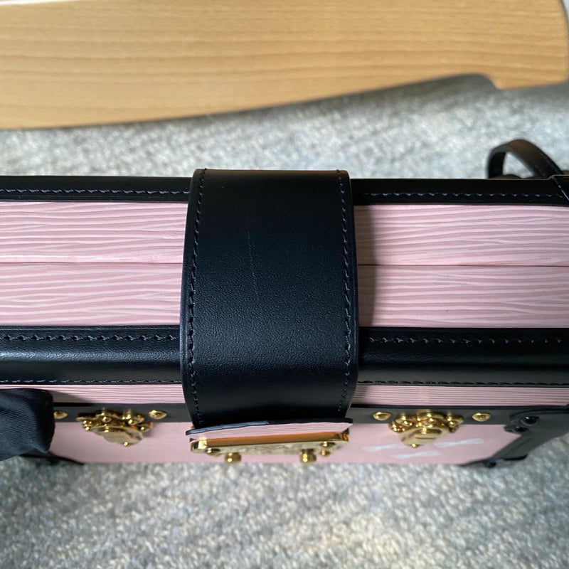 Petit Malle Pink Epi Trunk Clutch - Bag Religion