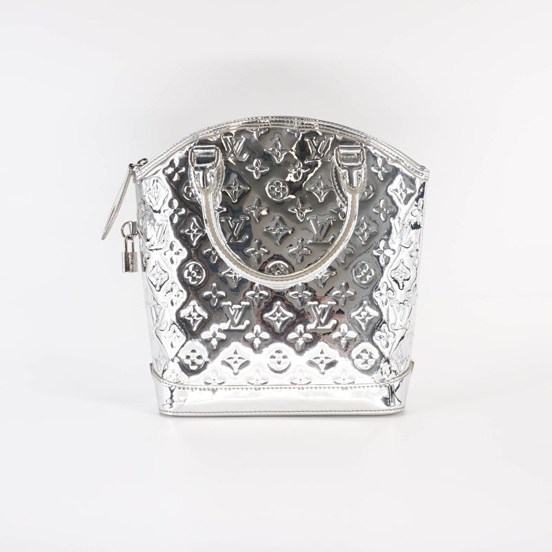 Silver Monogram Miroir Lockit Handbag - Bag Religion