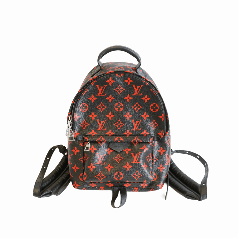 Palm Springs Backpack PM in infrarouge monogram leather - Bag Religion