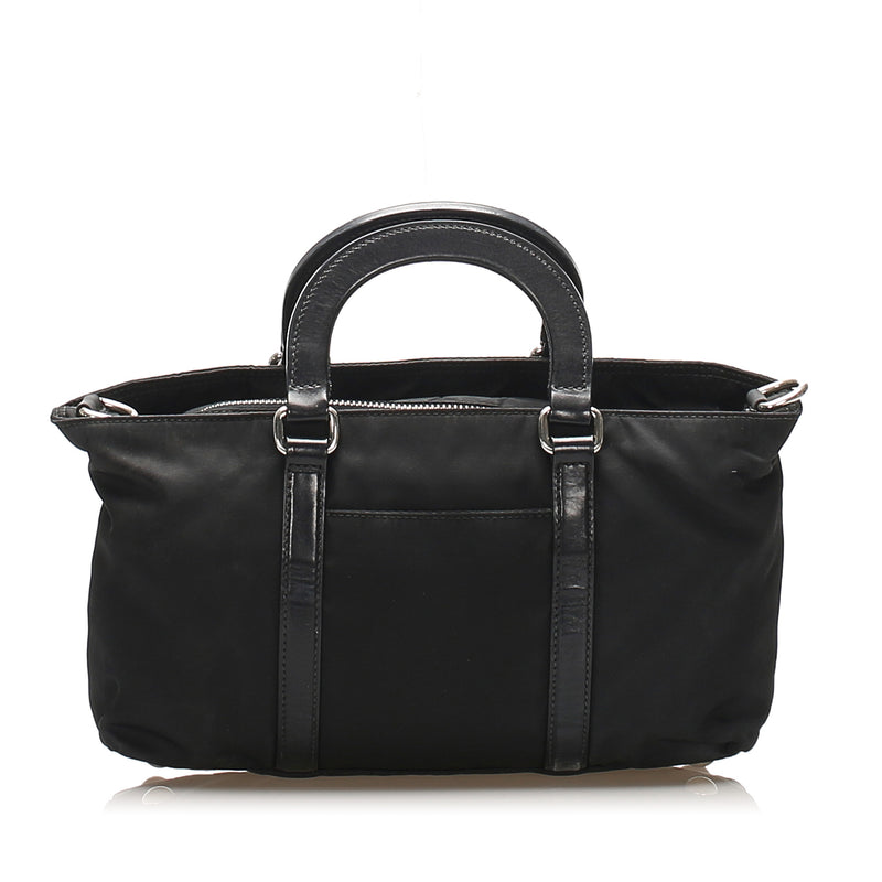 Tessuto Satchel Black - Bag Religion