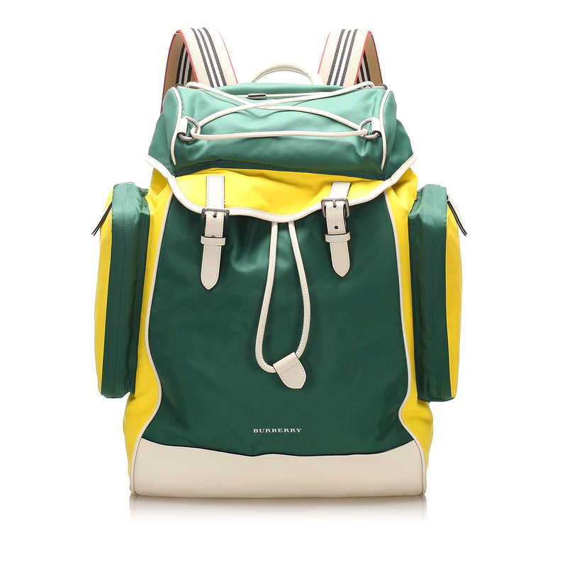 Nylon Backpack Green - Bag Religion