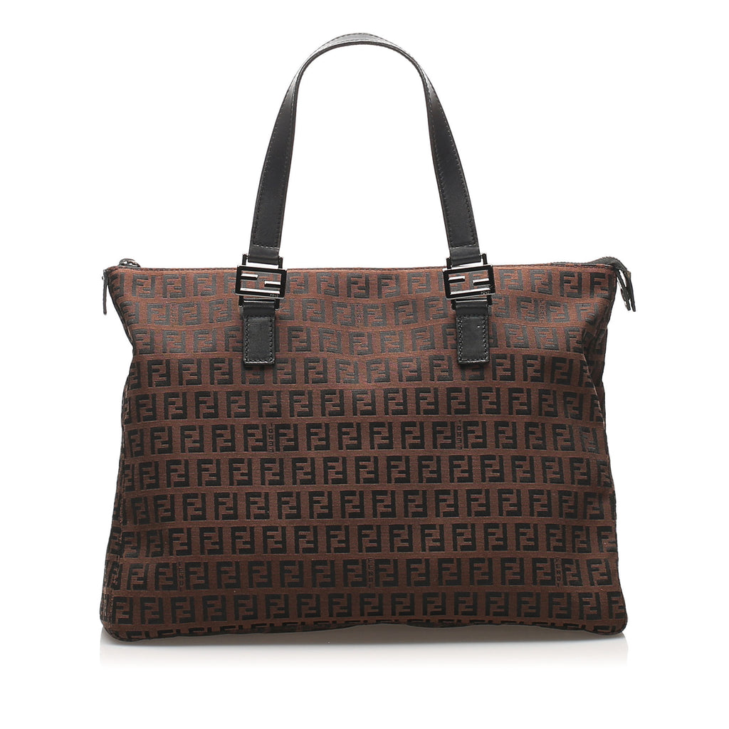 Zucchino Canvas Tote Bag Brown - Bag Religion