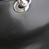 Medium Lady Dior Leather Satchel Black - Bag Religion