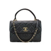 Trendy CC Small Black Flap Bag