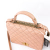 Rita Beige Top Handle Quilted Bag Crossbody - Bag Religion
