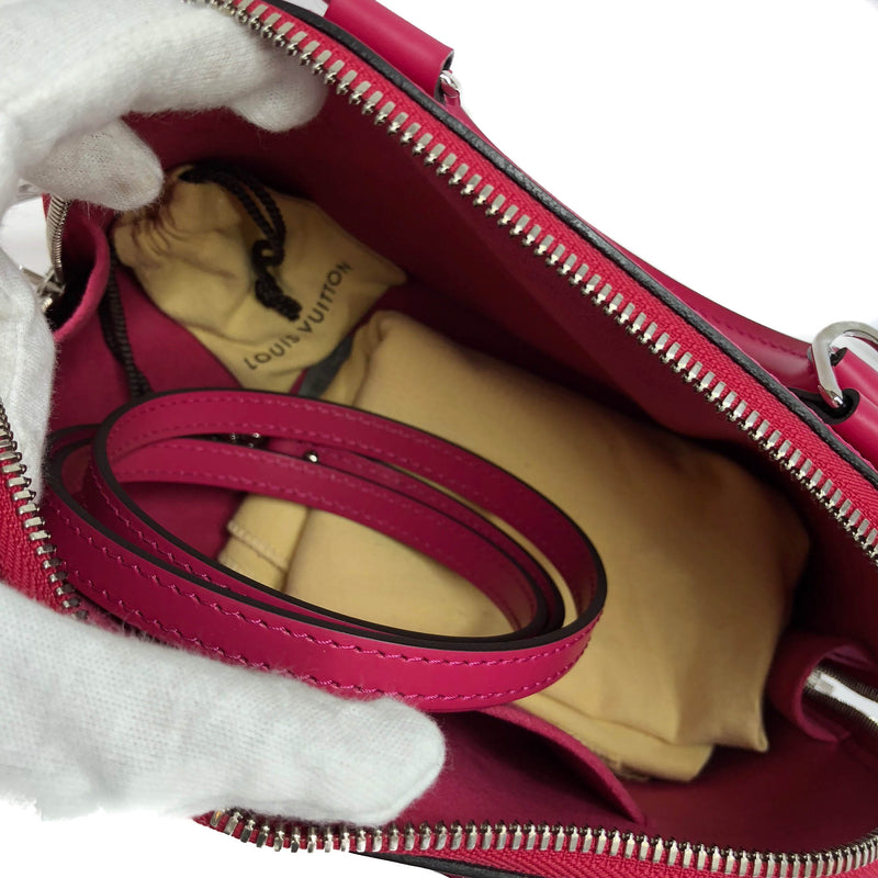Alma BB Epi Leather in Deep Pink - Bag Religion