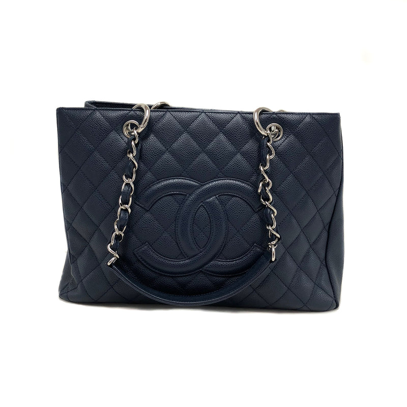 GST in Navy Caviar Leather with SHW - Bag Religion