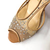 Patinana Strass Sandals Nude - Bag Religion