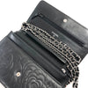 Camellia WOC in Black Lambskin - Bag Religion