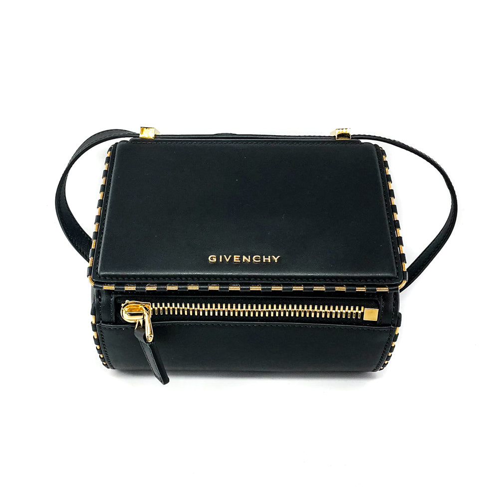 Pandora Box Mini with Gold detail Crossbody Bag - Bag Religion