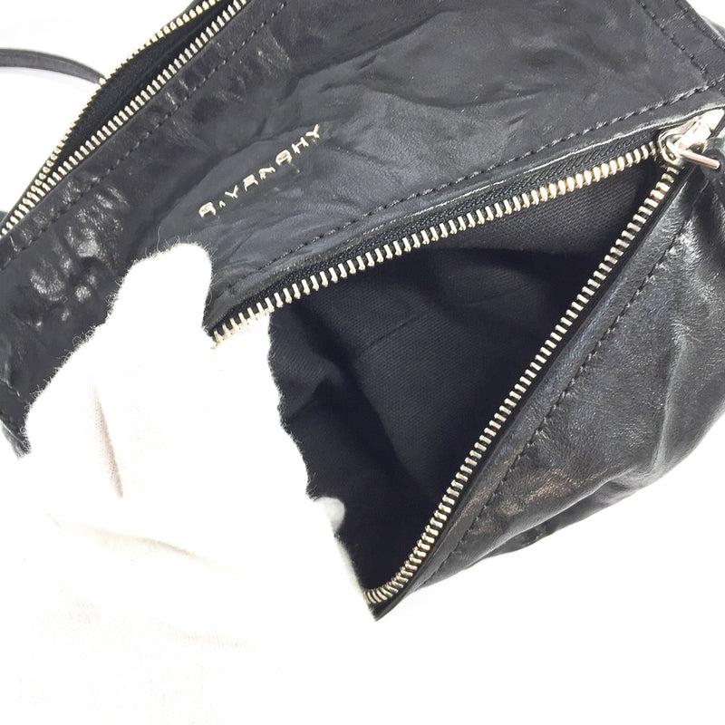 Old Pepe Pandora Mini Cross Body Shoulder Bag in Black - Bag Religion