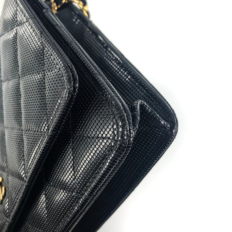Quilted Wallet on Chain WOC Pixel Leather - Bag Religion