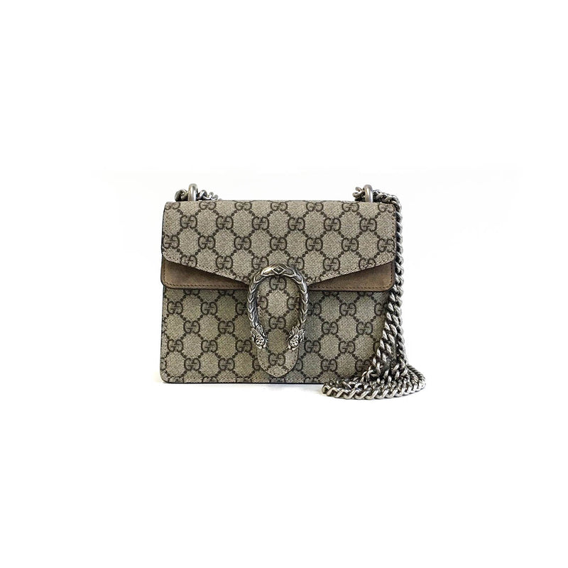 bag-religion Dionysus GG Supreme Mini Shoulder Bag