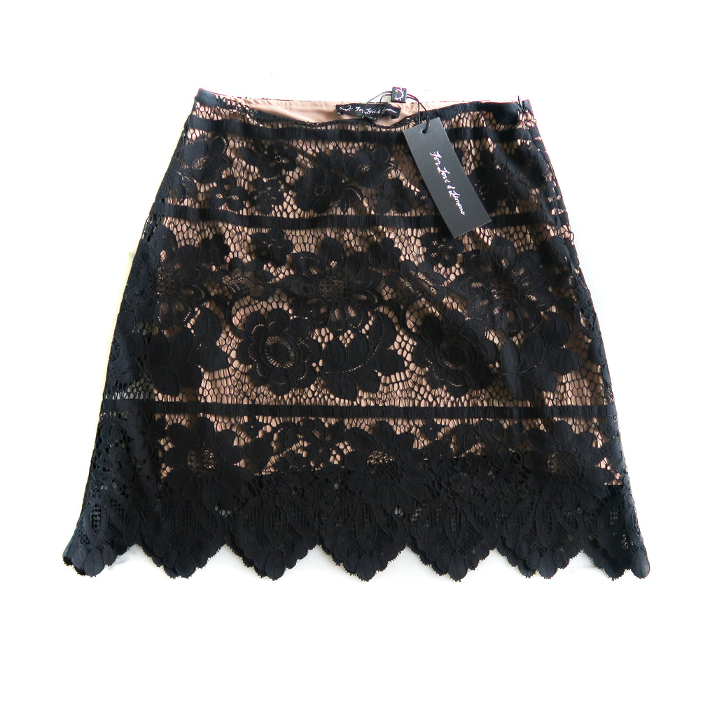 Vika Mini Skirt in Black - Bag Religion
