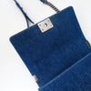 Old Medium Boy Bag in Denim and Tweed with RHW - Bag Religion