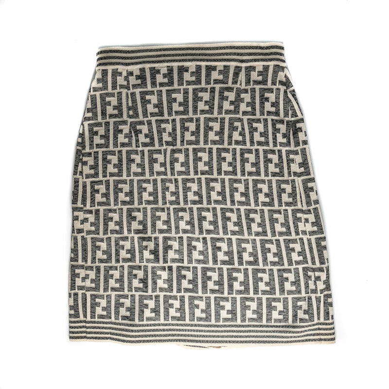Vintage Monogram Knit Skirt - Bag Religion