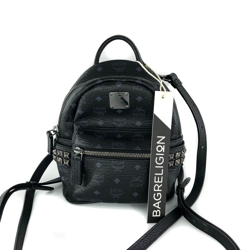 Mini Black Stark Backpack - Bag Religion