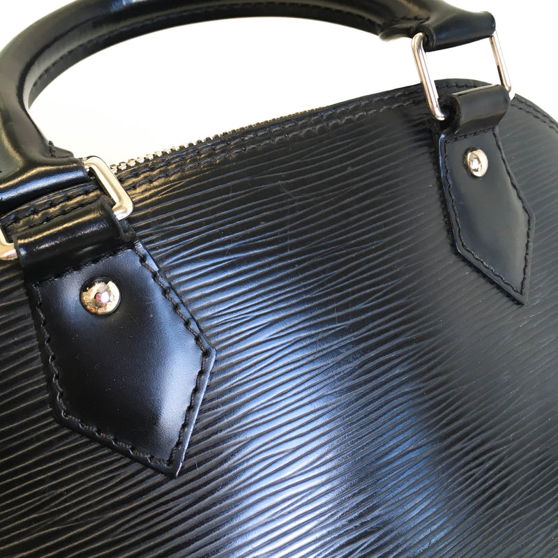 Alma BB in Black Epi Leather - Bag Religion
