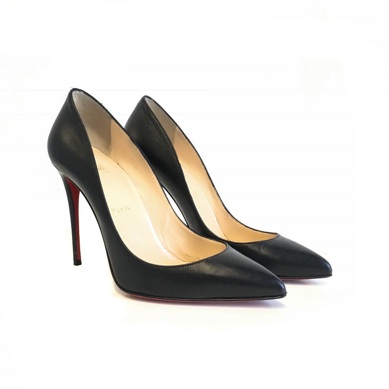 Pigalle Heels in Black - Bag Religion