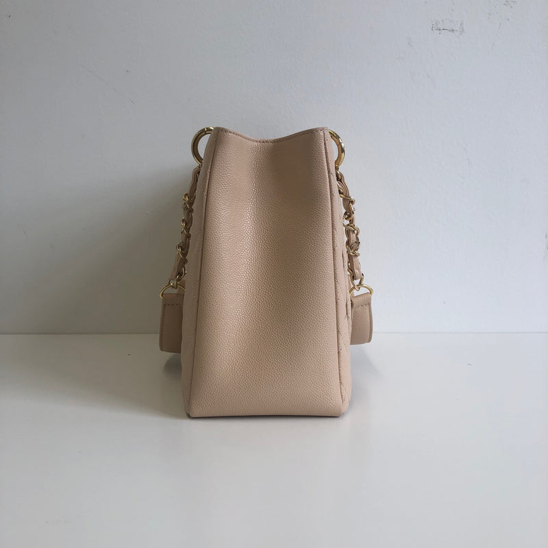 GST in Beige Caviar Leather with GHW - Bag Religion