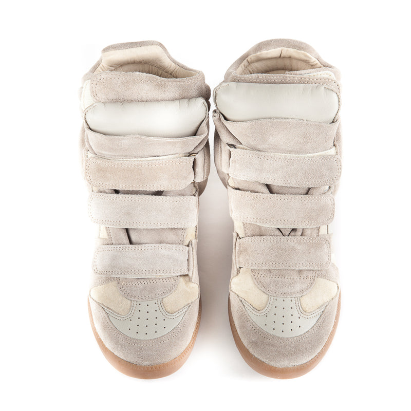 Bekett Leather and Suede Sneakers - Bag Religion