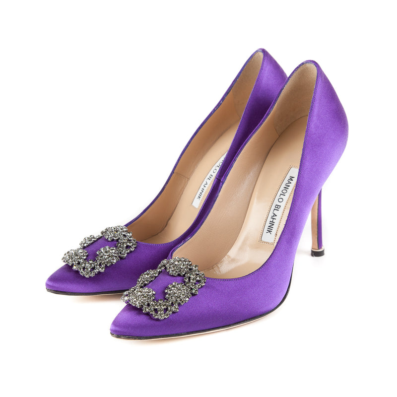 Hangisi Heels in Purple - Bag Religion