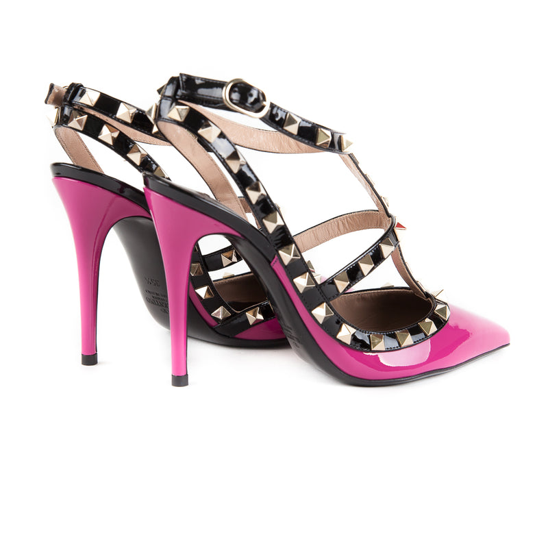 Rockstuds in Magenta and Black - Bag Religion
