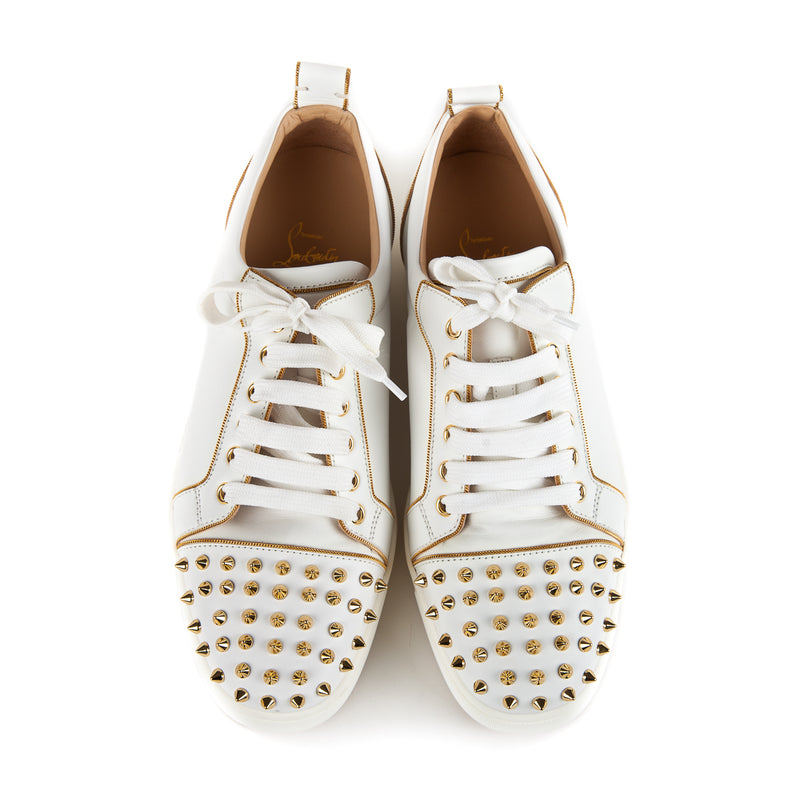 Rush Spiked Sneaker, White - Bag Religion