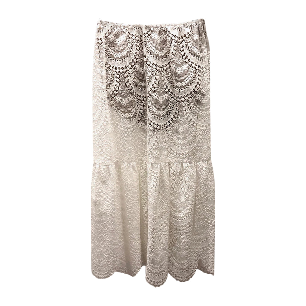 Rosalita Lace Skirt in White