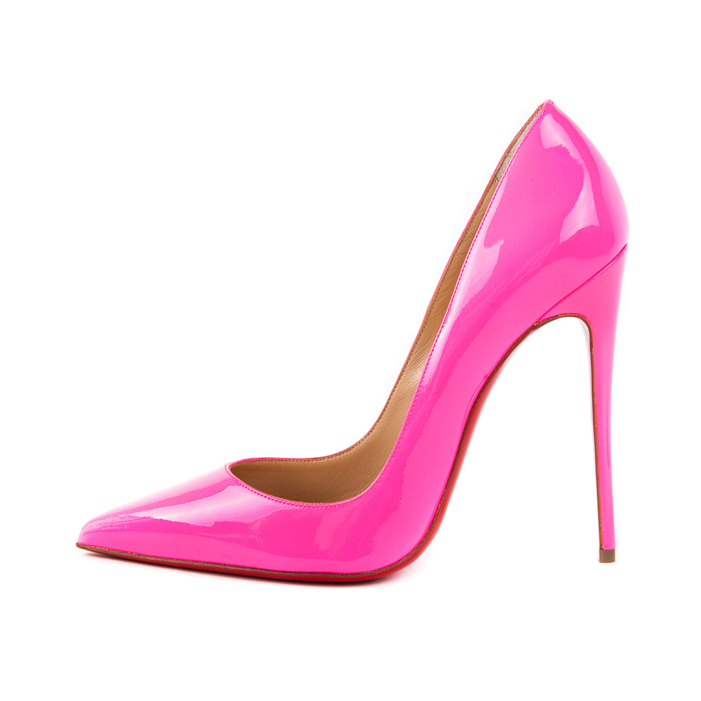 So Kate 120 Heels, Shocking Pink - Bag Religion