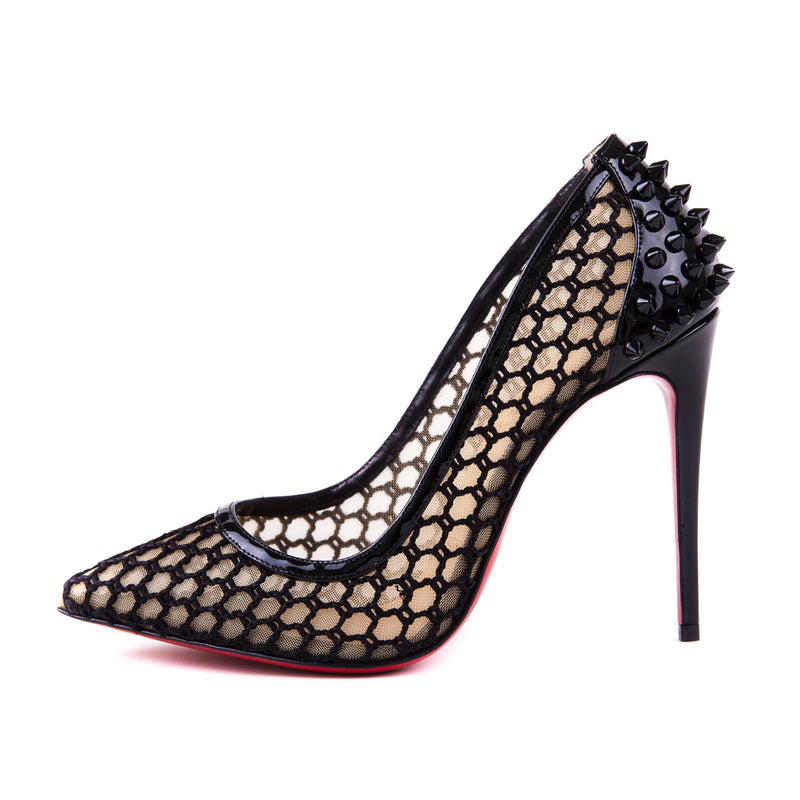 bag-religion Guni Spiked Perforated Pumps